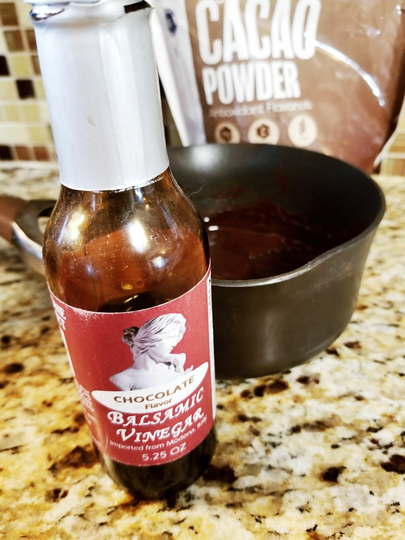 Chocolate Balsamic Vinegar from Fanchone Gourmet