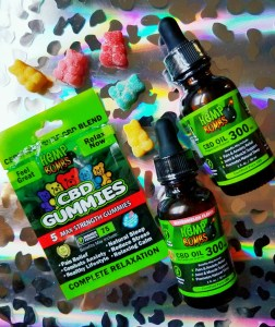 Hemp Bombs CBD Gummies and CBD Oil (in Peppermint and Watermelon)