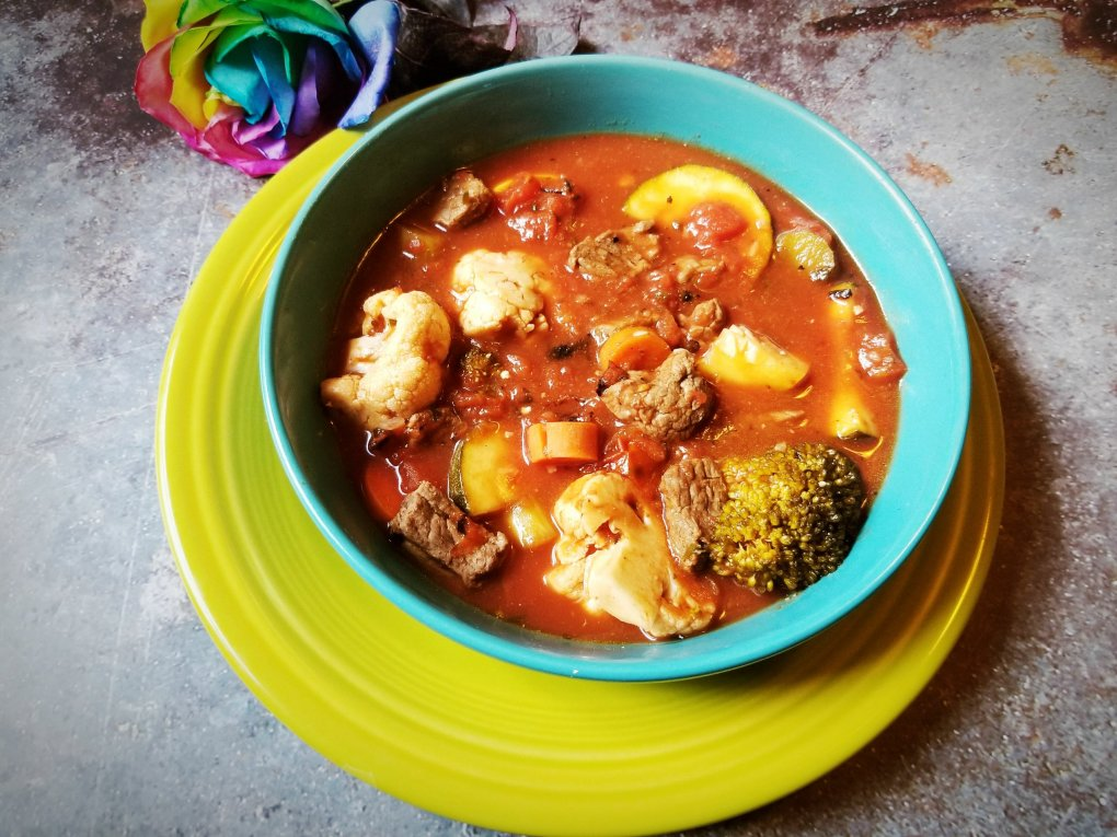 Paleo Vegetable Beef Soup