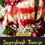 Good Eats At Sugarbush Tavern in Eastpointe, MI (REVIEW)- And The Best Cherry Chicken Salad Of My Life!