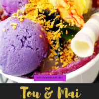 Tou & Mai REVIEW - Sweet Beans In My Ice-Cream! Why You Should Try Hello Hello (Halo Halo)