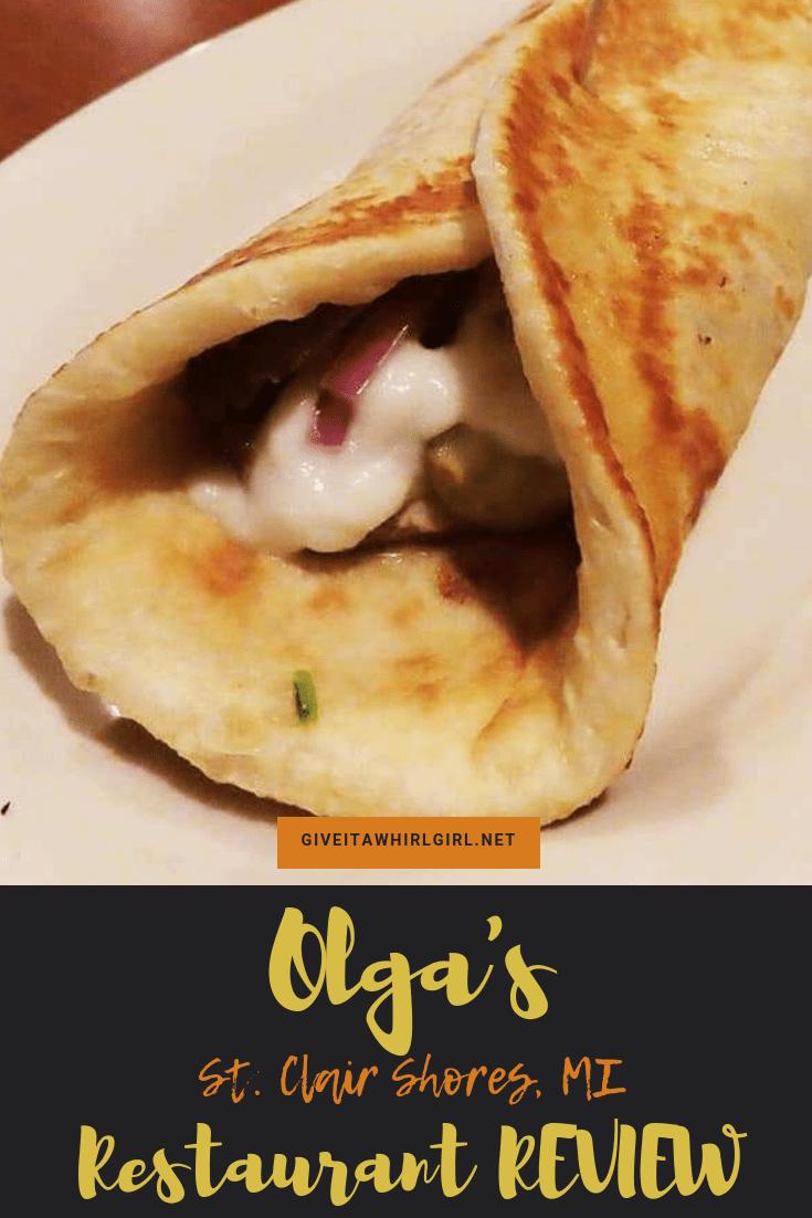 Olga's Restaurant REVIEW St Clair Shores, MI