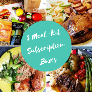 3 Meal Kit Subscription Boxes and Current Deals