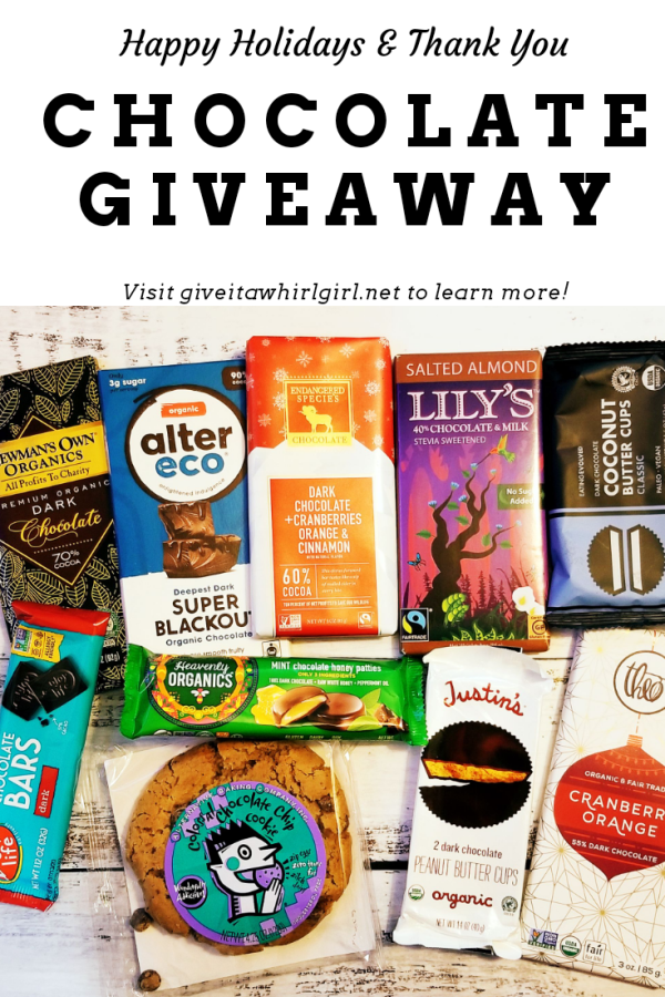 Chocolate Giveaway at Give It A Whirl Girl