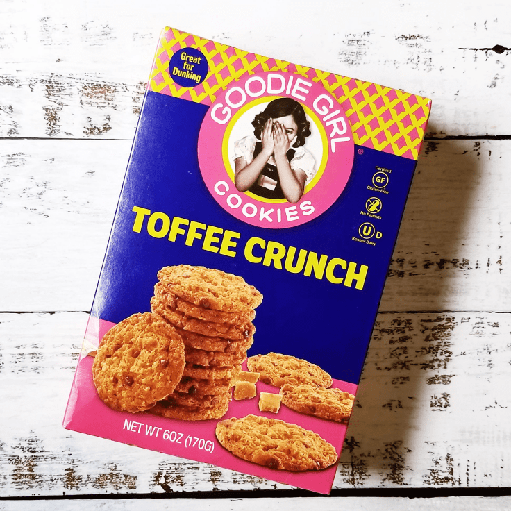 Toffee Crunch Goodie Girl Cookies