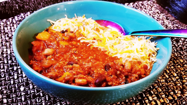 3-Bean Farty Party Chili With Paleo Powder (Gluten-Free)