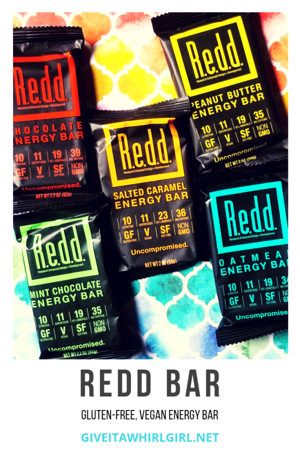 REDD BAR Energy Bar Review