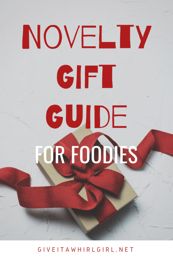 Novelty Gift Guide For Foodies