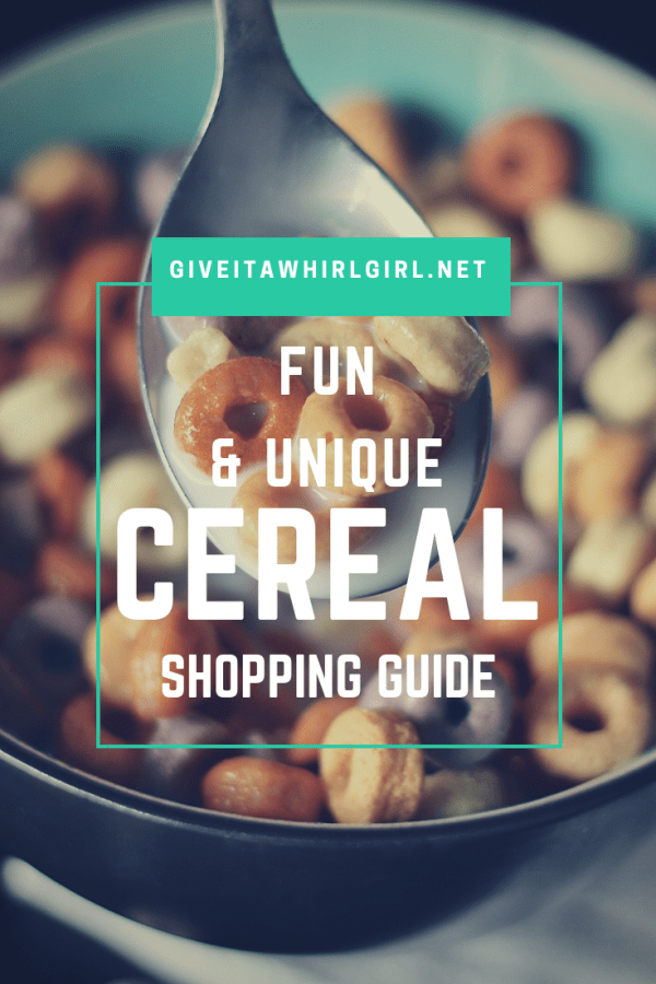 Fun & Unique Cereal Shopping Guide