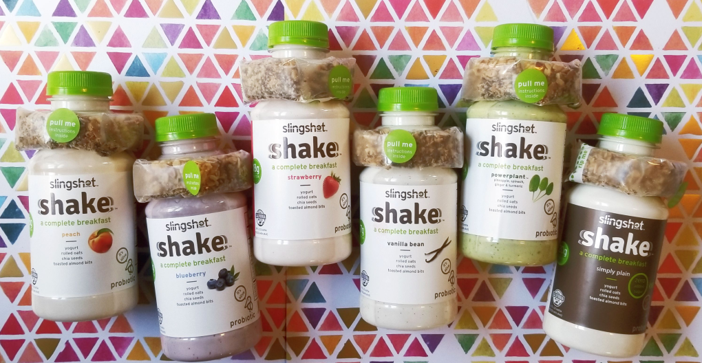 Slingshot Complete Breakfast Shakes come in 6 flavors