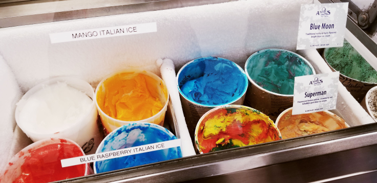 Italian Ice and Ice-Cream