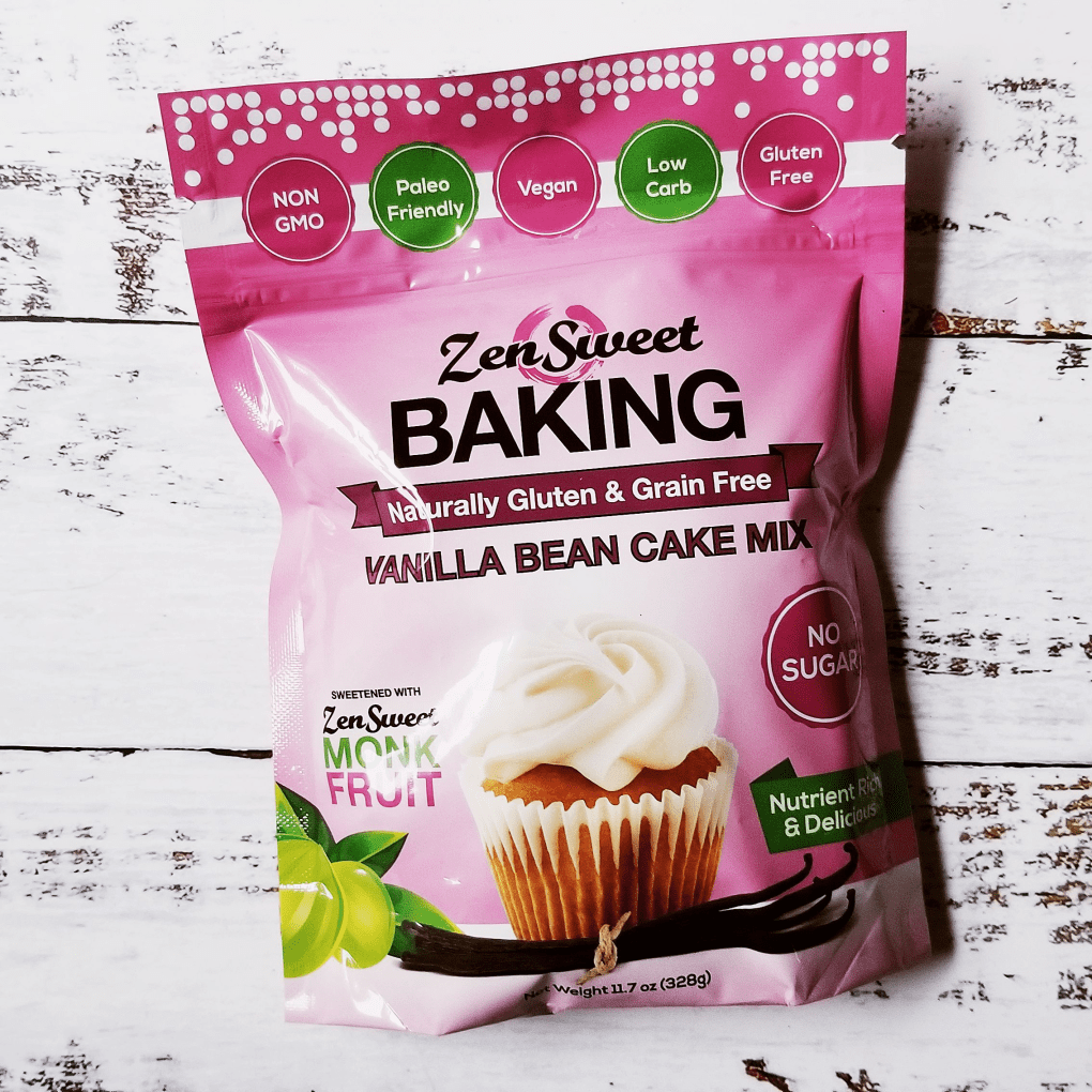 ZenSweet Vanilla Cupcake Baking Mix