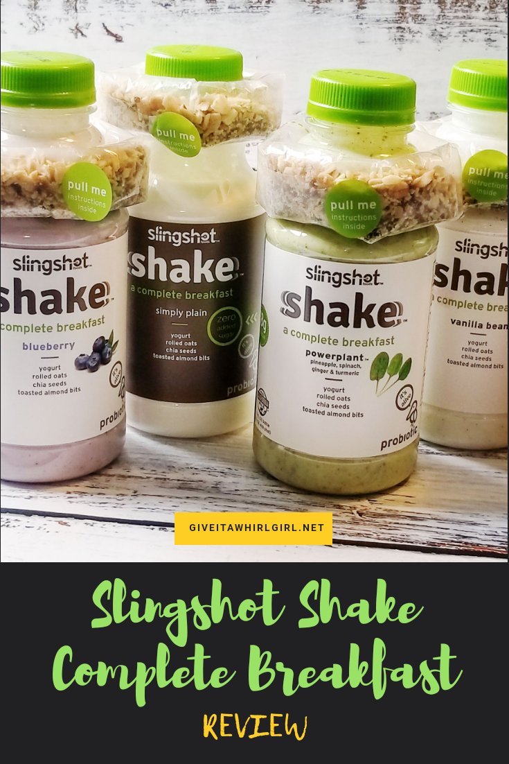 Start Your Day With A Slingshot Shake - Complete Breakfast Protein Slingshot Shake REVIEW