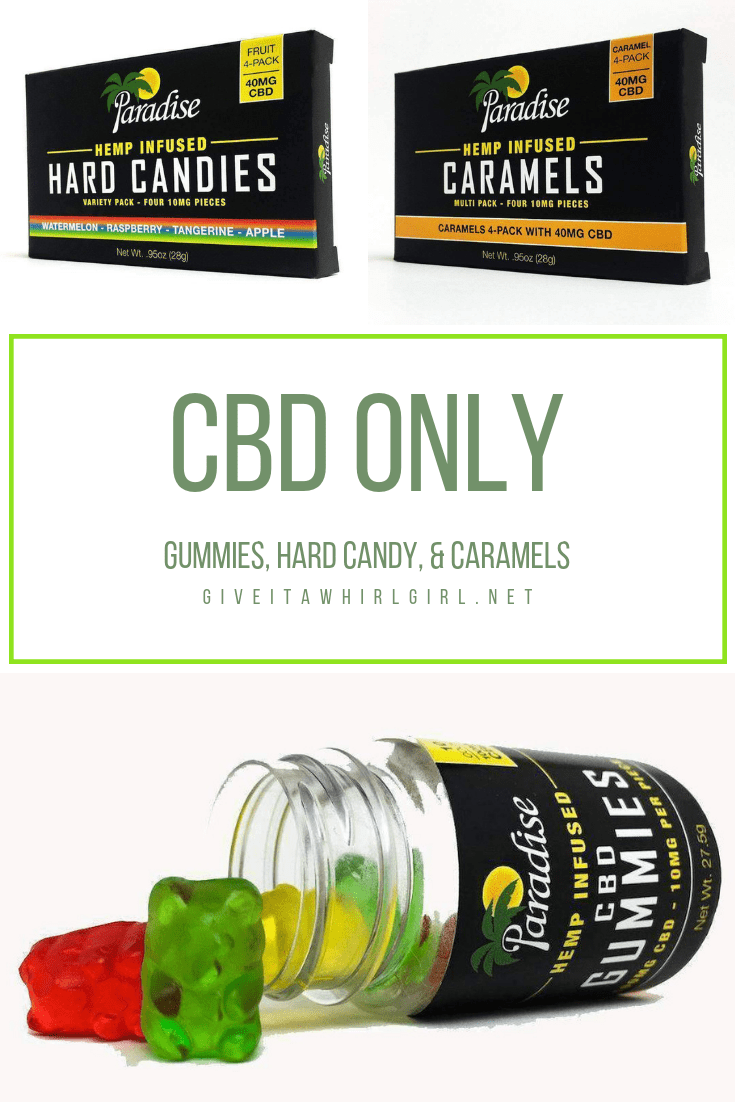 CBD ONLY Edibles Review by Give It A Whirl Girl