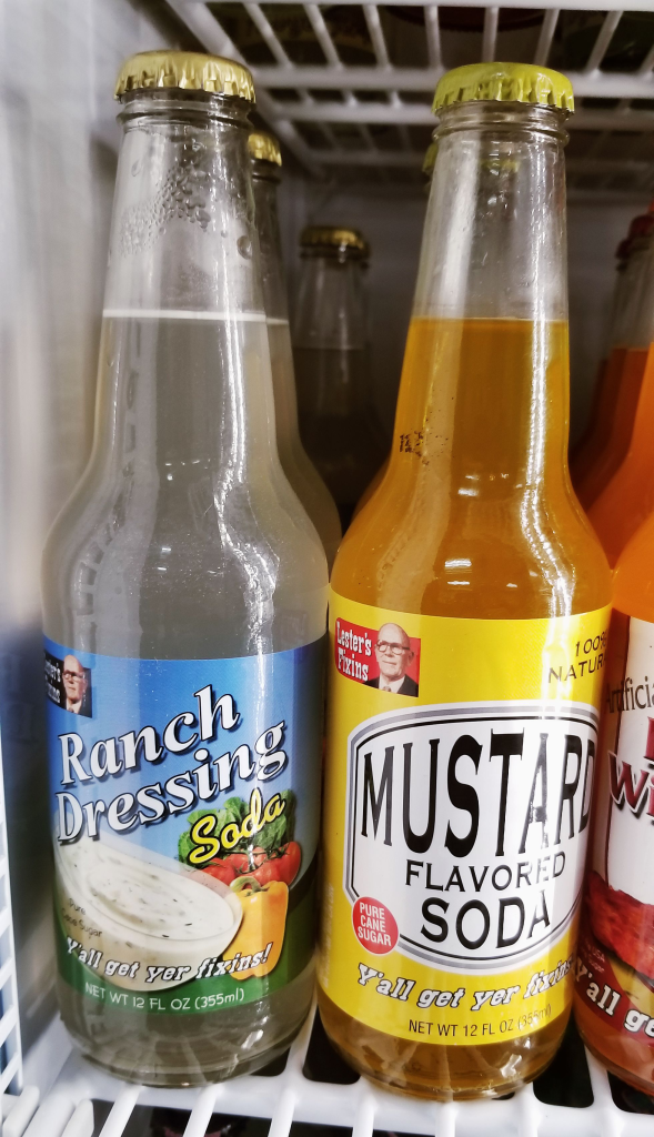 Ranch dressing or mustard soda-pop?? That is the question!