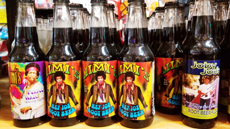 Jimi Hendrix soda-pop ROCKET FIZZ REVIEW by GIVE IT A WHIRL GIRL