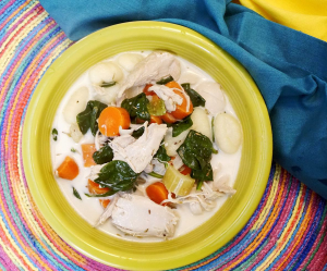 Creamy Chicken Gnocchi Soup RECIPE by GIVE IT A WHIRL GIRL