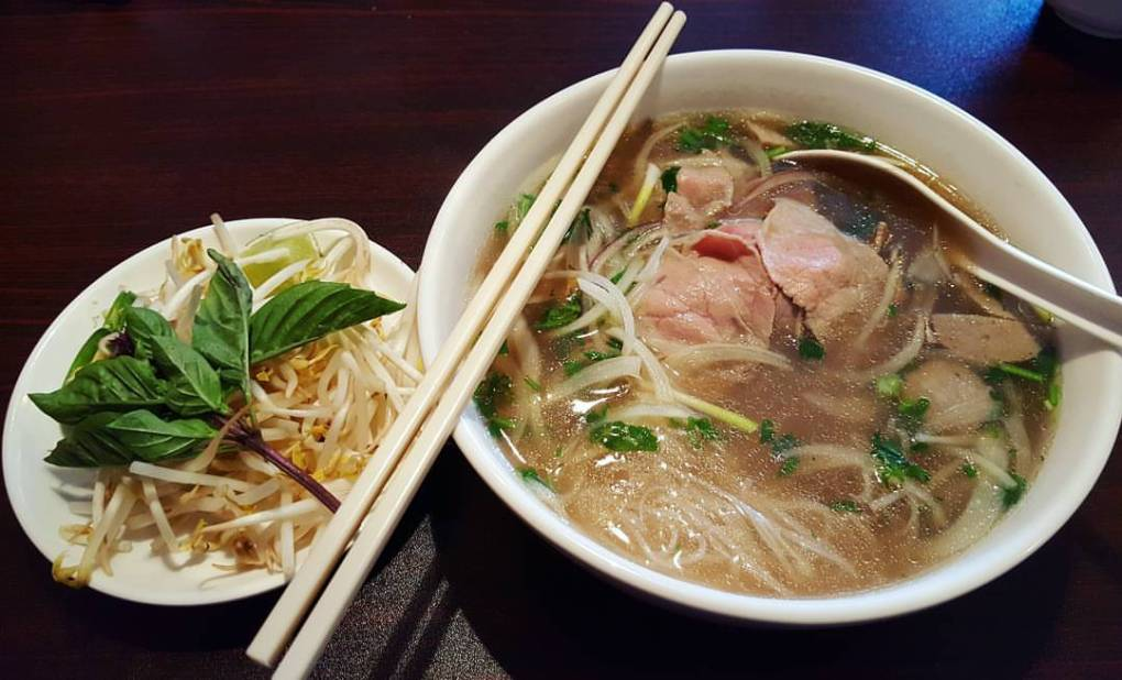 Pure comfort food right over here. I love pho at Minh Chau (New Asian Star)!