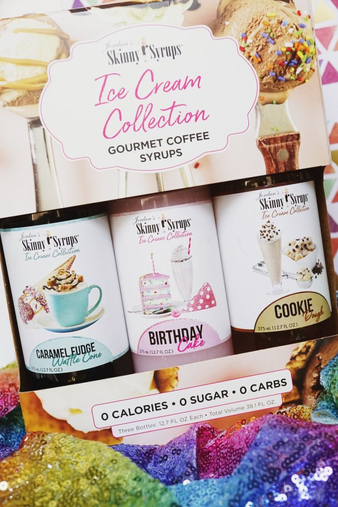 Jordan's Skinny Syrups Ice Cream Trio Collection