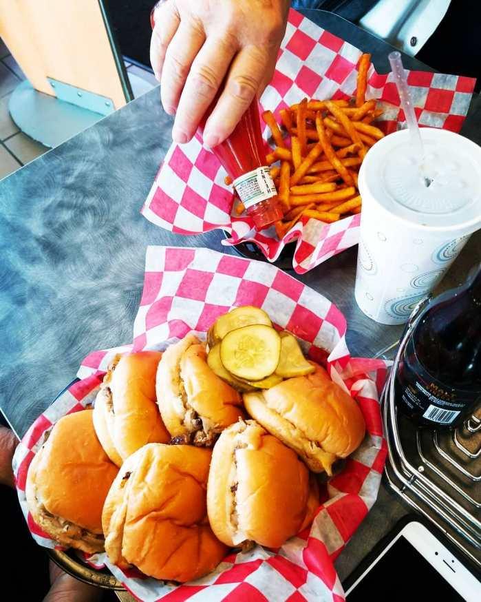Cheeseburger Sliders at Seeburger's Cheeseburgers