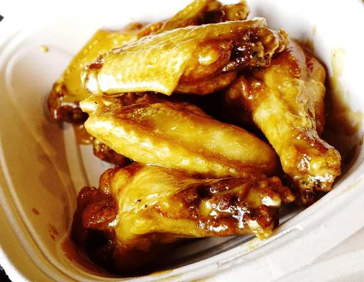 Asian Orange Wings at Detroit Wing Company REVIEW