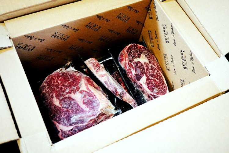 Everything was frozen solid and packed really well with my first ButcherBox.