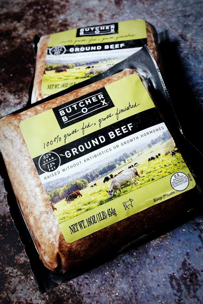Ground Beef (grass-fed beef) from ButcherBox