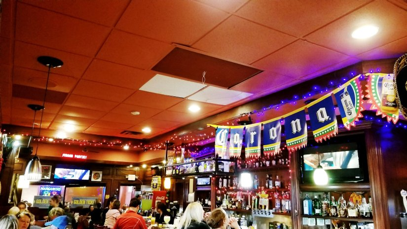 Interior of the Crazy Gringo Mexican Cantina / The Bar - Great place to grab a refreshing margarita