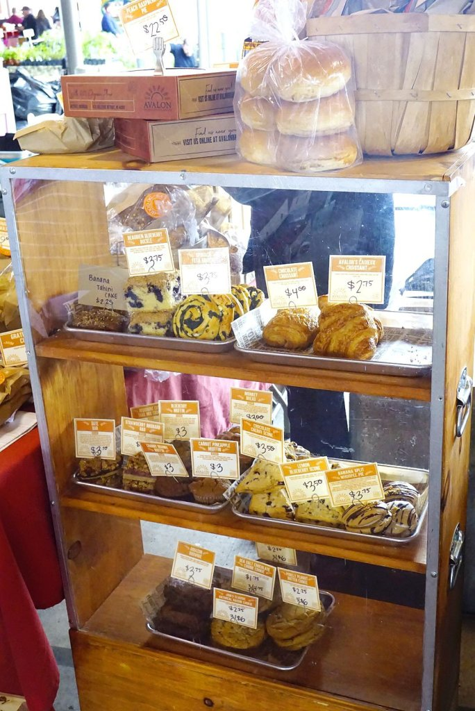 You can find many different types of homemade baked goods in the Eastern Market sheds