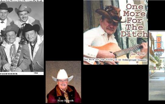 Real Cowboy Rusty Richards ~ Memphis Blues Man Jim Rorie