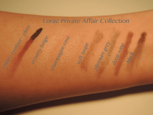 Lorac Private Affair Collection