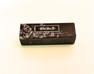 Kat Von D hellbent lipstick box