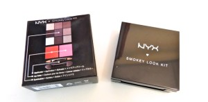 NYX Smokey Look Kit box