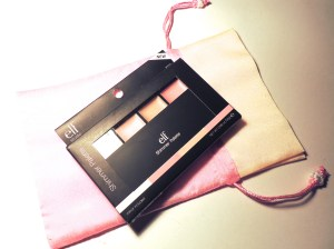 elf Shimmer Palette in the box