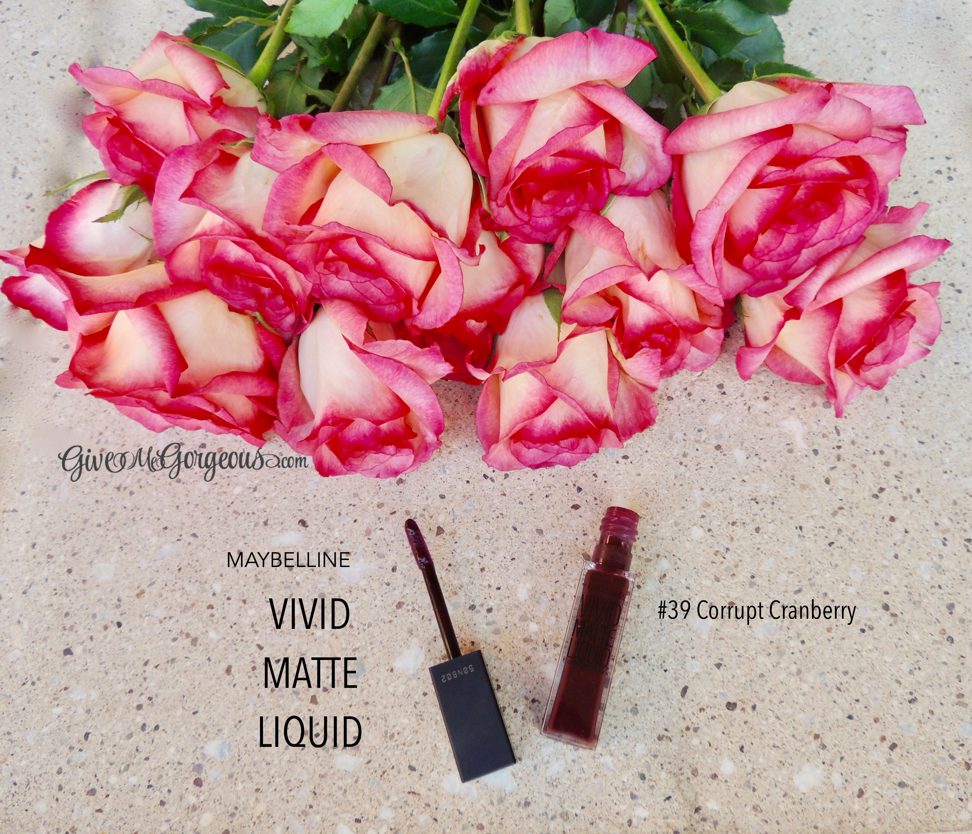 Maybelline Vivid Matte Liquid Lip Color In Corrupt Cranberry Give Sensational Lipstick Target Among Others Sells Maybellines Sensation 20 Shades This Highly Pigmented Formula Comes Some More Daring