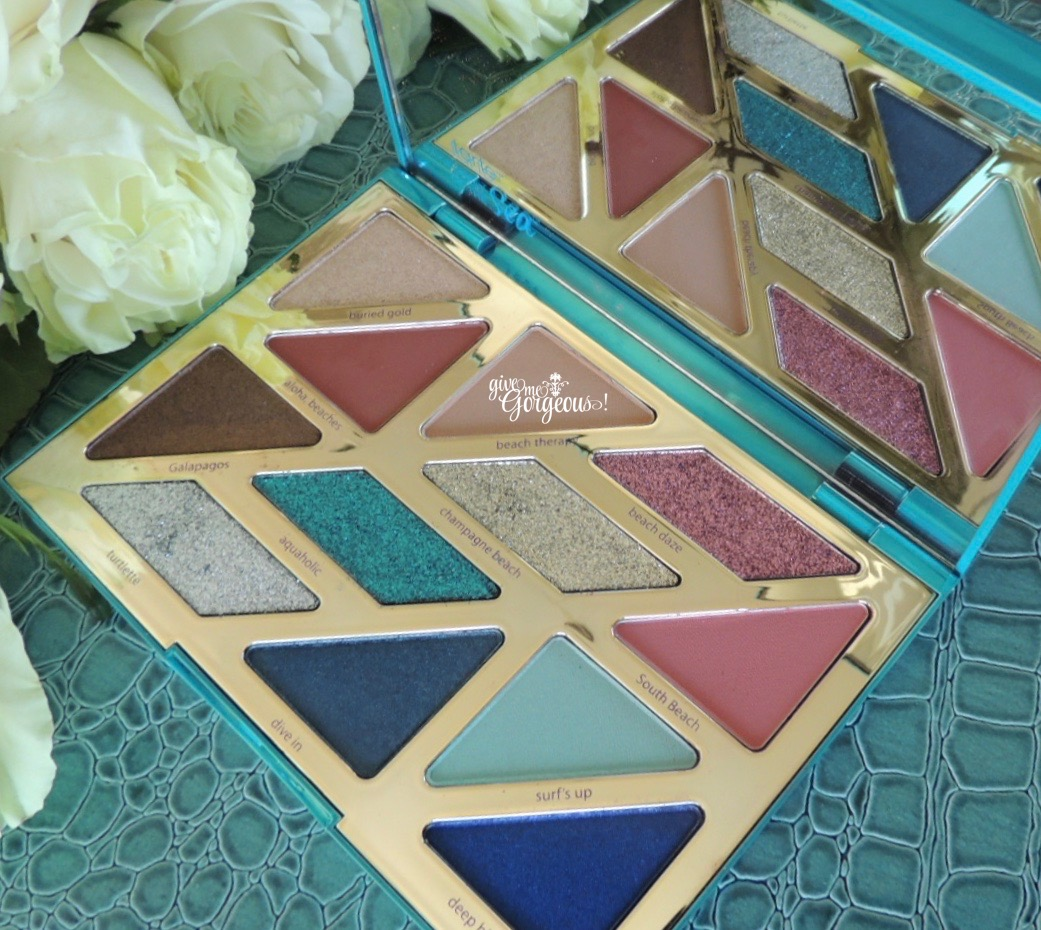 tarte high tides & good vibes eyeshadow palette