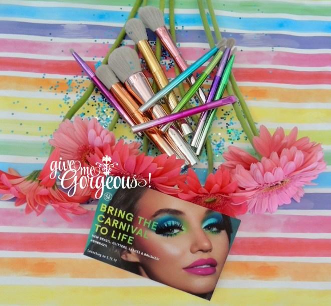 Take Me Back to Brazil bh Cosmetics brush set