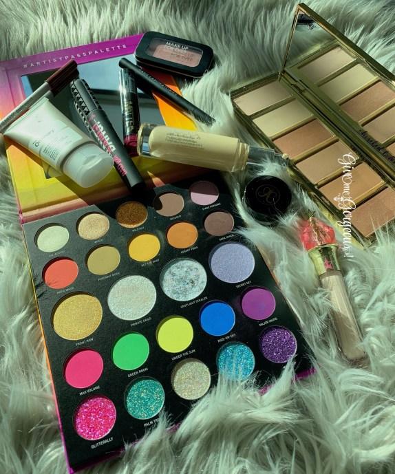 Morphe Artist Pass 24A eyeshadows palette