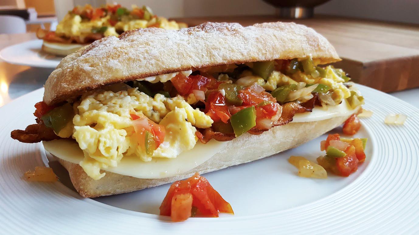 sarkis loretta-like breakfast sandwich