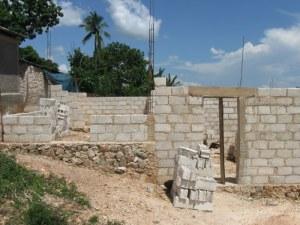 Madam Fani's new house in progress.