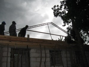 trusses in the storm