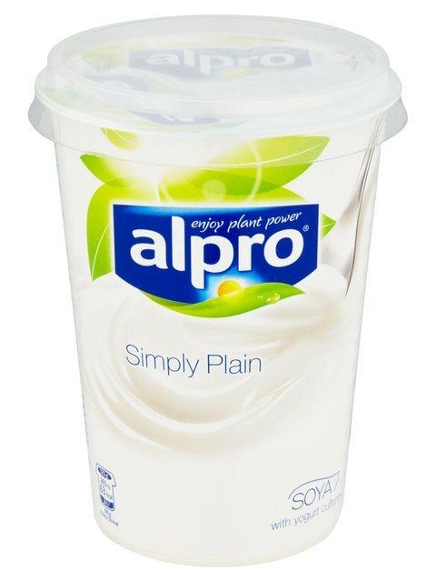 Alpro Soya yoghurt alternative product photo