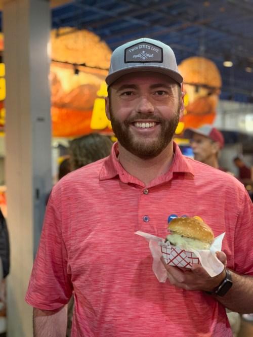 Wild Rice Cheeseburger