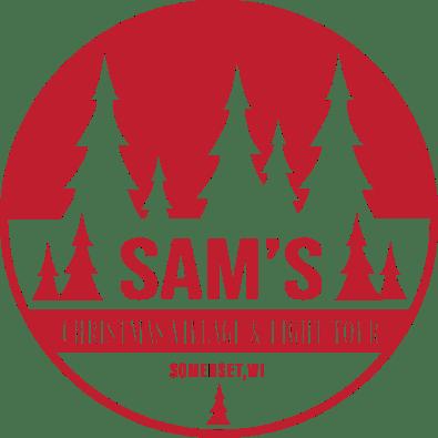 Sam's Christmas Village & Light Tour in Somerset, WI.