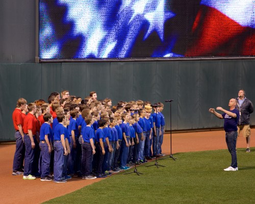 keep National Anthem at Target Field May 2015