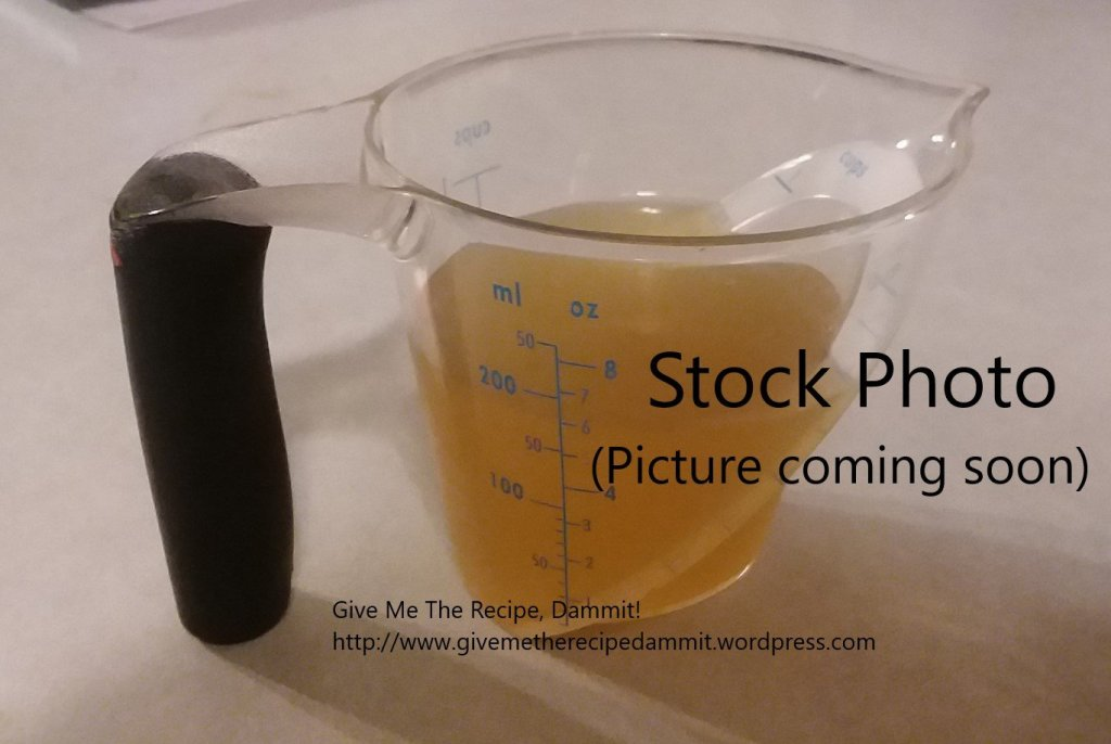 stock photo Roasted Garlic Soup