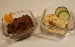 hummus 2 ways scaled Hummus 2 ways - Traditional and Chocolate Hummus