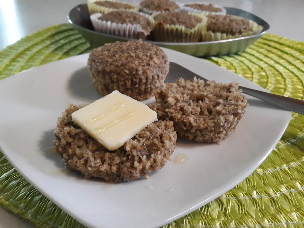 banana oat muffins - gluten free!