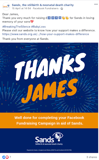 The best way to thank your Facebook Fundraisers - GivePanel