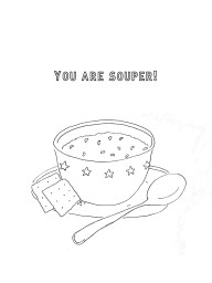 Free Greeting Card: You are Souper!